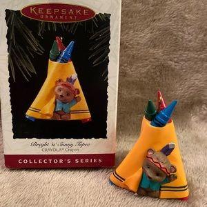 Hallmark 1995 Bright 'n' Sunny Tepee ornament